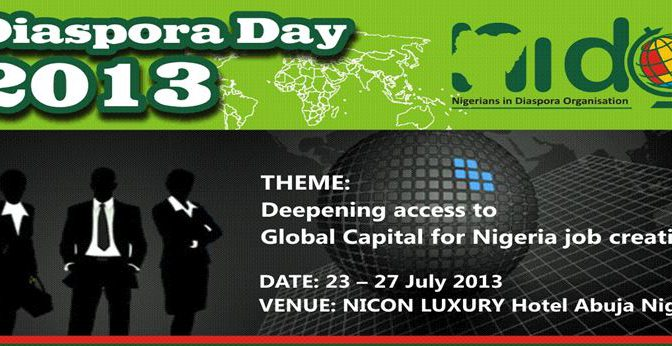 Nigerian Diaspora Day – Chronicle of a failing national event